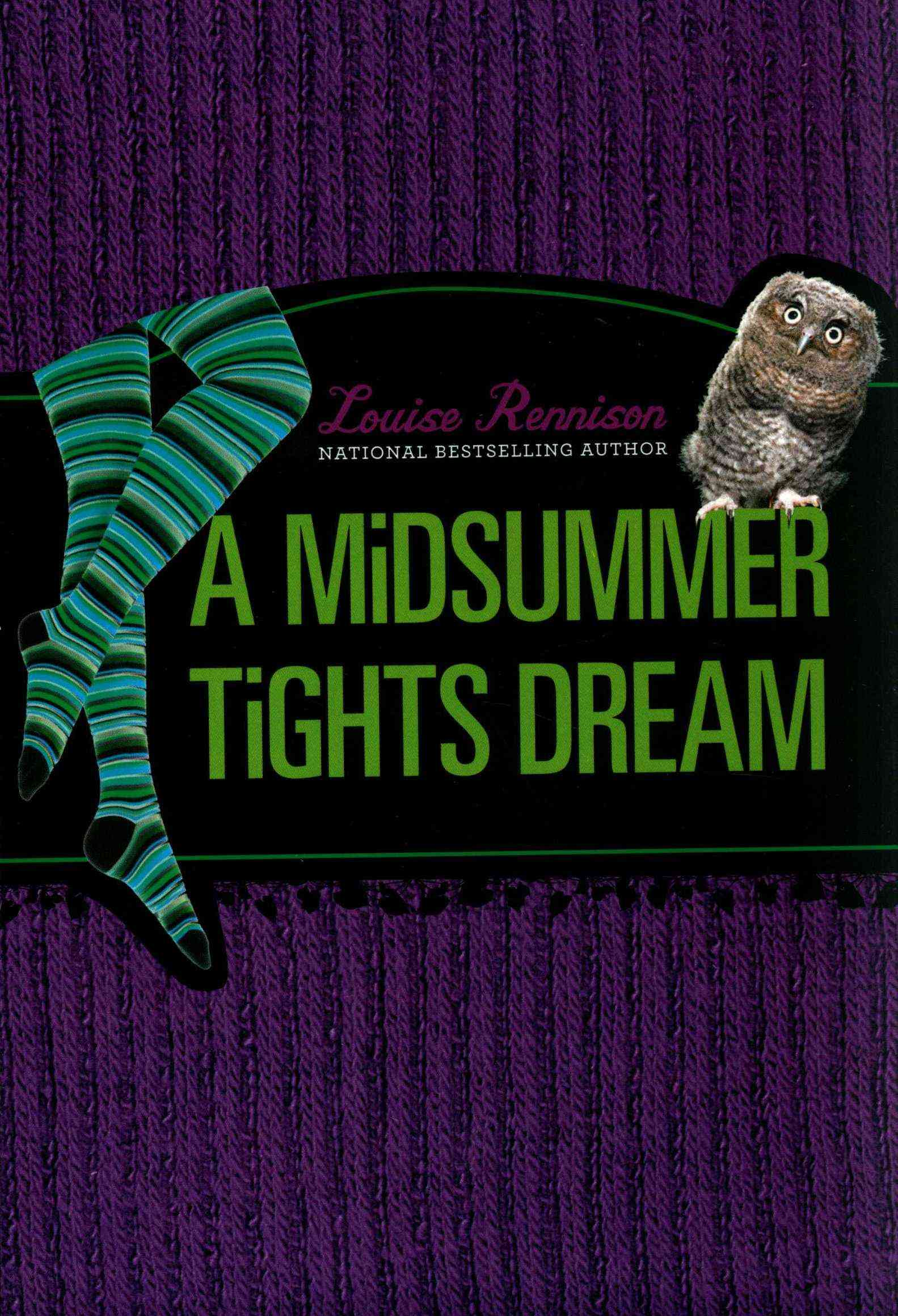 A Midsummer Tights Dream By Rennison, Louise