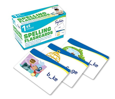 First Grade Spelling Flashcards By Sylvan Learning (COR)